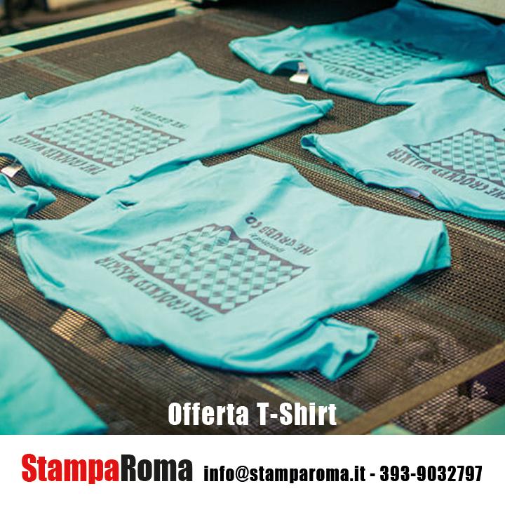 stampa magliette roma